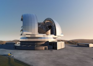 The E-ELT, becoming a bit more real now. (Image: ESO)